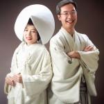 婚礼・和装フォトプランでの白無垢姿
