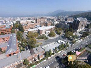 空撮 京都大学吉田キャンパス