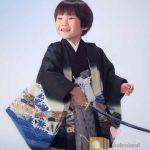 七五三 凛々しい日本男児