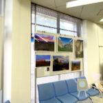 滋賀銀行東山支店ロビーでの写真展示