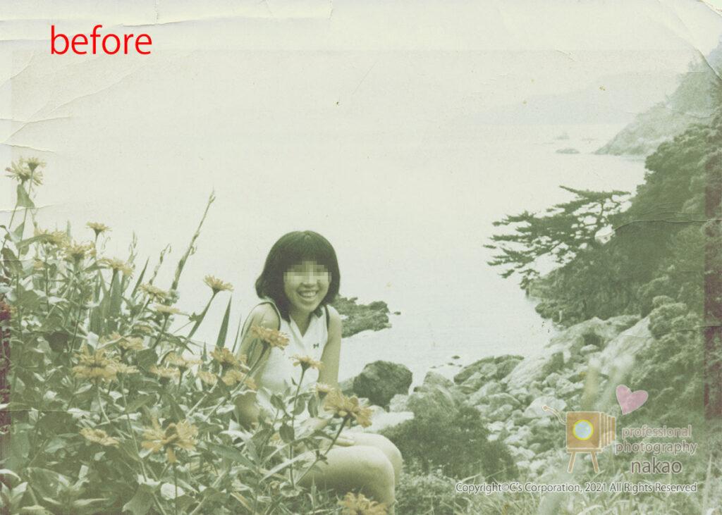 モノクロ写真のカラー化 原板#01