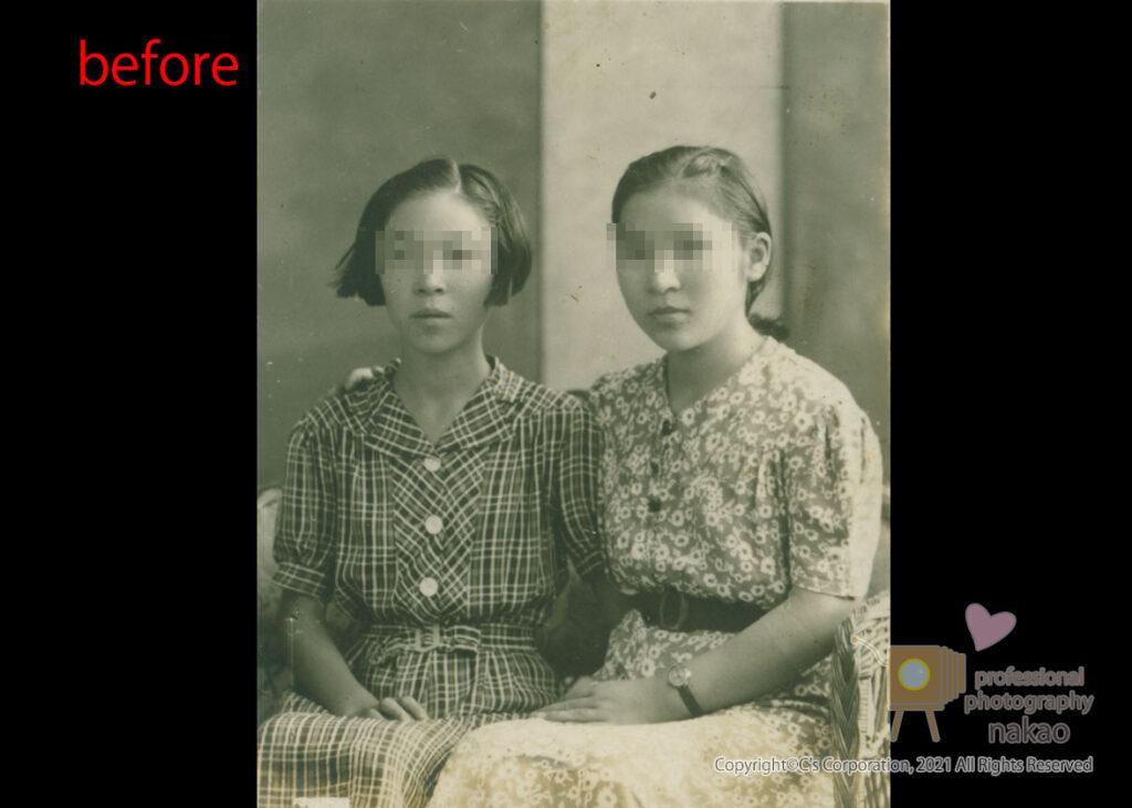 モノクロ写真のカラー化 原板#02