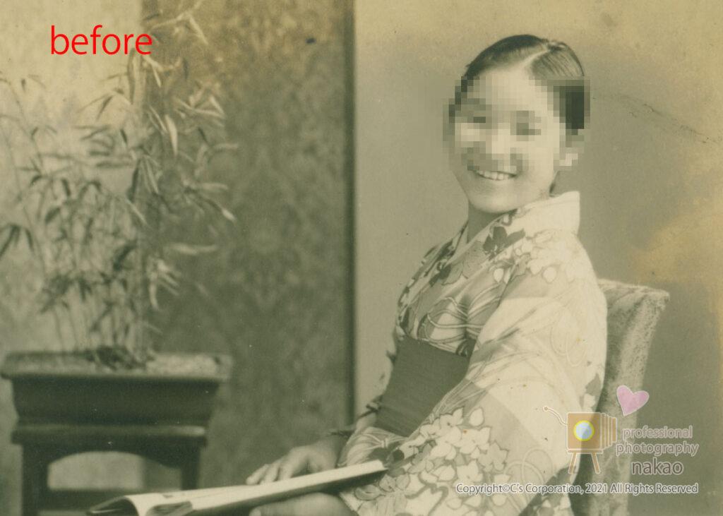 モノクロ写真のカラー化 原板#03